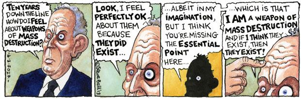 Tony Blair e le armi di invenzione di massa