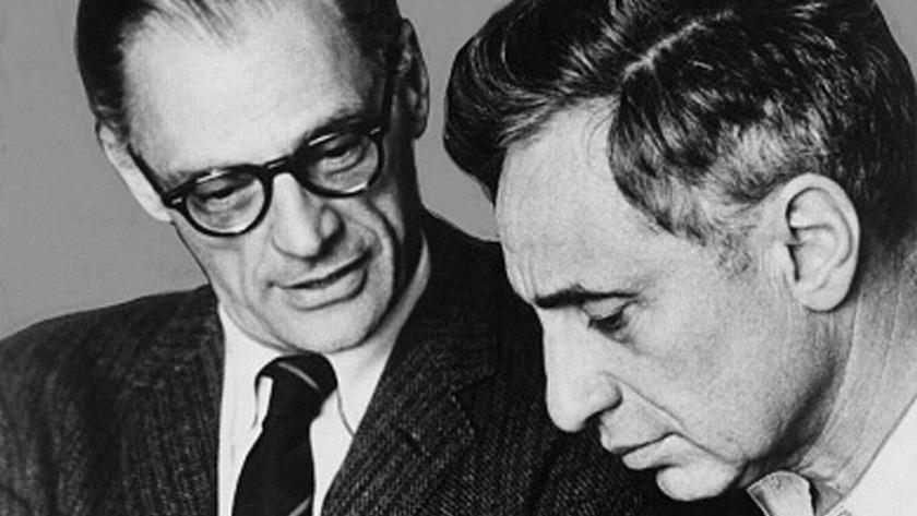 Arthur Miller & Elia Kazan