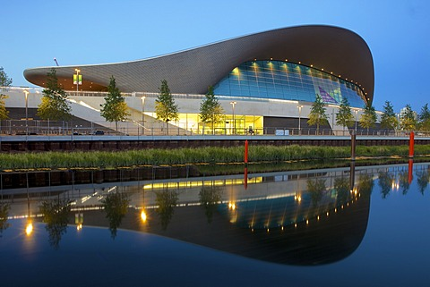 Aquatics Centre in the 2012 London Olympic Park, Stratford, London, England, United Kingdom, Europe